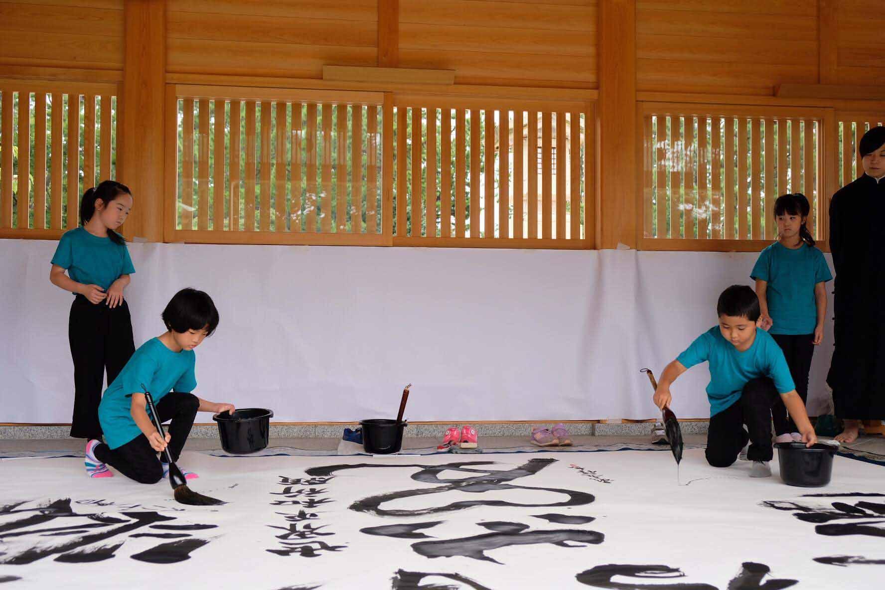 日本文化の精神を伝える機会に